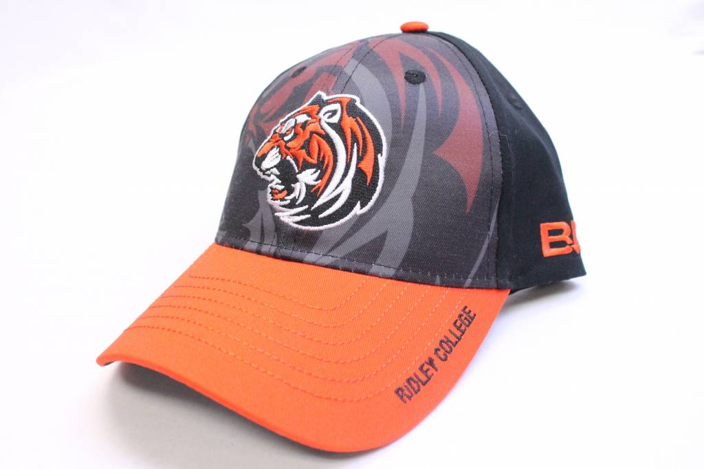 Bardown Ball Cap with Tiger Camo