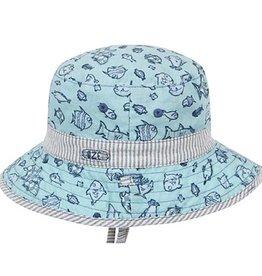 Dozer Baby Boys Bucket - Fletcher Blue S