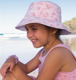 Millymook Girls Ponytail - Abbie Pink L