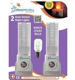 Dreambaby Dreambaby 2 Auto Sensor Lights, 1 Bulb
