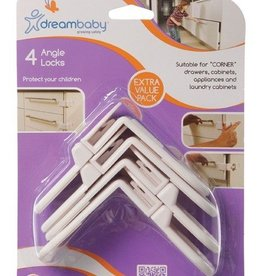 Dreambaby Dreambaby Angle Locks 4 Pack