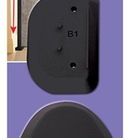 Dreambaby DreamBaby Black Spacers For Retractable Gate