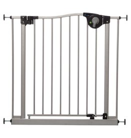 Dreambaby Dreambaby Empire Magnetic Sure-Close Gate - Silver