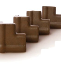 Dreambaby Dreambaby Foam Corner Bumpers (Brown) 4 Pk