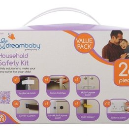 Dreambaby Dreambaby Household Safety Kit 26Pc