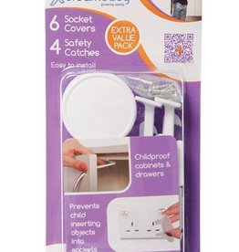 Dreambaby Dreambaby Safety Catches 4, Outlet Plugs 6