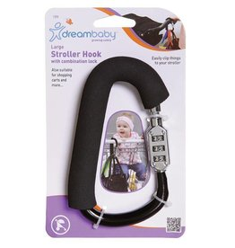 Dreambaby DreamBaby Stroller Hook With Combination Lock