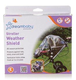 Dreambaby DreamBaby Stroller Weather Shield Black Trim
