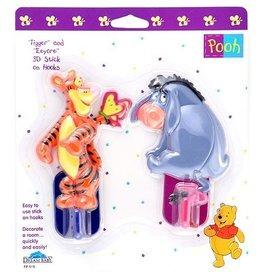 Dreambaby DreamBaby Tigger & Eeyore 3D Hooks 2 Pieces