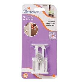 Dreambaby Dreambaby Twin Pin Latches 2 Pack