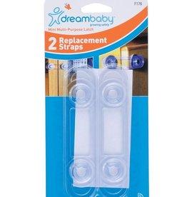 Dreambaby Dreambaby Mini Multipurpose Latch Straps 2Pack