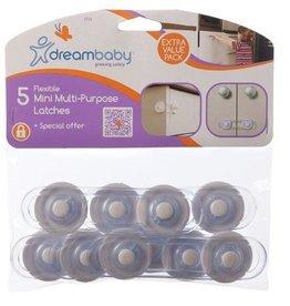 Dreambaby Dreambaby Mini Multipurpose Latch Straps 5 Pack