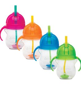 Munchkins Munchkin Click Lock 7oz Weighted Flexi-Straw Cup -1pk (Assortment)