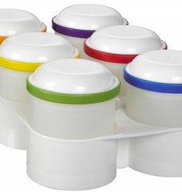 Dr Browns Dr Browns Food Storage Pods & Tray - 6 Pieces