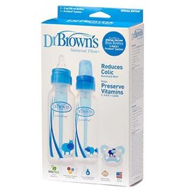 Dr Browns Dr Browns Narrow Neck Deco Bottles and Gift Set