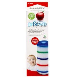 Dr Browns Dr Browns Snack-A-Pillar - Snack & Dipping Cups