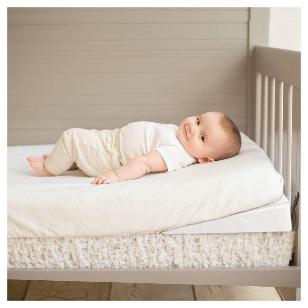 Summer Infant Summer Infant Good Vibes Crib Wedge White ...