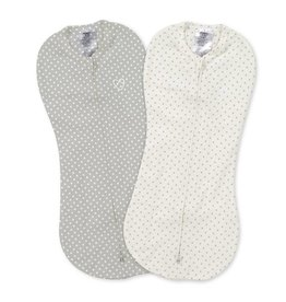 Summer Infant Summer Infant Swaddle Me Pod - 2Pk Grey/White Dot