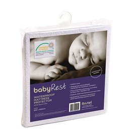 BabyRest Babyrest Waterproof Portacot Mattress Protector 1040x710mm