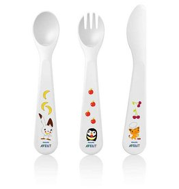 Avent Avent 714 Toddler Feeding 18M+ Fork, Knife & Spoon