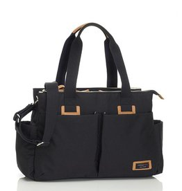Storksak Storksak Travel Shoulder Bag Black
