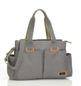 Storksak Storksak Travel Shoulder Bag Grey
