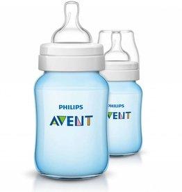 Avent Avent Pp Feeding Bottle 260Ml 0% Bpa 2Pk - Blue