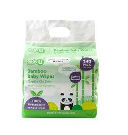 Baby U Baby U Bamboo Wipes 240pk