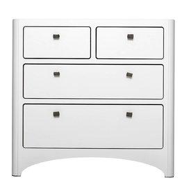 Leander Leander 4 Drawer Dresser White