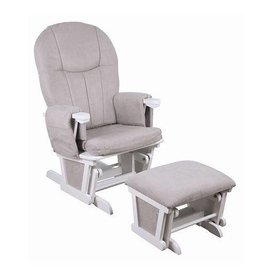 Childcare Childcare Glider Rocker White/Mushroom