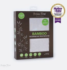 Bubba Blue Bubba Blue Bamboo Collection Waterproof Mattress Protector Standard Cot