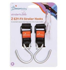 Dreambaby Dreambaby Strollerbudy Ezy-Fit Stroller Hooks 2 Pack