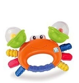BKids BKids - Sand Crab Rattle/Teether