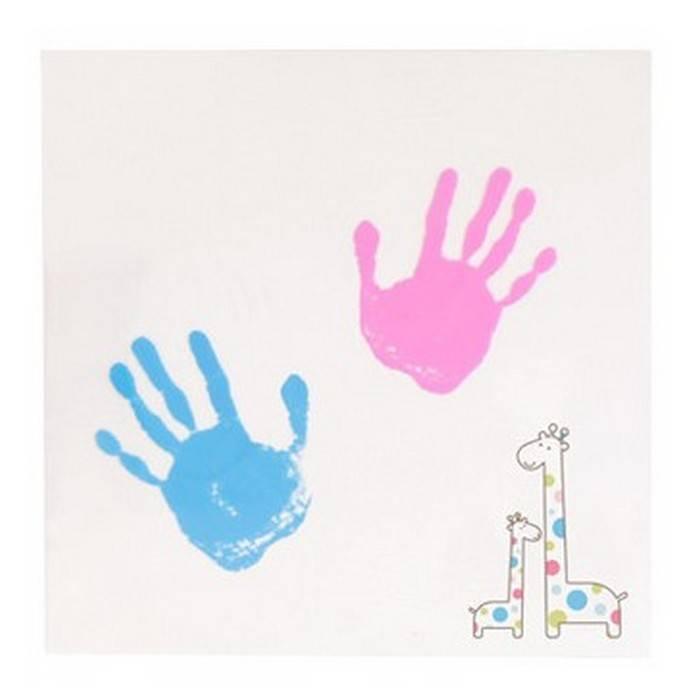 Pearhead Pearhead Baby and Me Handprint Wall Art - Sweet Lullabies
