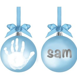 Pearhead Pearhead Babyprints Ball Ornament