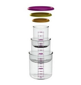 Beaba Beaba Set of 3 Gipsy Portions Food Jar (1 baby/1 maxi /1 maxi+)