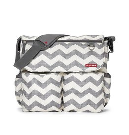 Skip Hop Skip Hop Dash Messenger Diaper Bag - Chevron