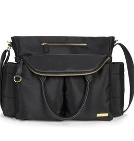 Skip Hop SkipHop Chelsea Downtown Chic Diaper Satchel Black