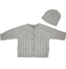 Love To Dream Living Textiles Cardigan & Beanie Set