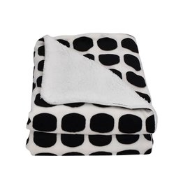 Living Textiles Living Textiles Mod Dot Velboa Blanket