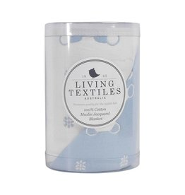 Living Textiles Living Textiles Muslin Jacquard Blanket