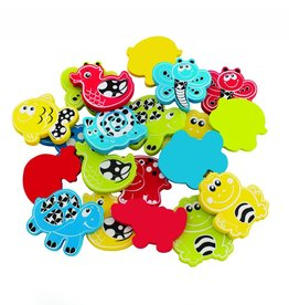 Playgro Playgro Animal Bathtime Stickers 24pcs