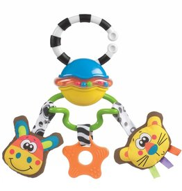Playgro Playgro Safari Sounds Musical Tag Along Rattle