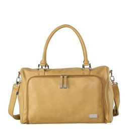 Isoki Isoki Double Zip Satchel Sorrento Camel