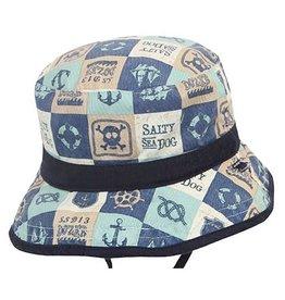 Dozer Dozer Baby Boys Bucket Jaxson - Navy