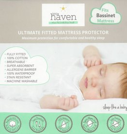 Little Haven Little Haven Bassinet Mattress Protector (40x80cm)