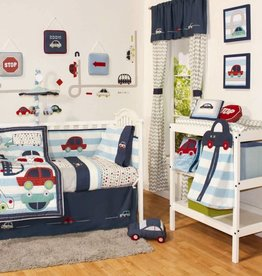 Little Haven Little Haven Zoom Along 6 Piece Cot Set