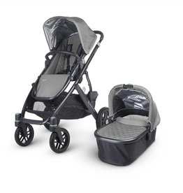 UPPABaby UPPAbaby VISTA 2015 - With Bassinet - Grey/Graphite (Pascal)