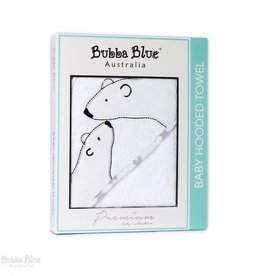 Bubba Blue Bubba Blue Polar Bear Velour Hooded Towel