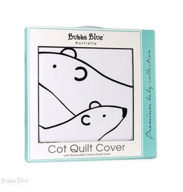 Bubba Blue Bubba Blue Polar Bear Cot Quilt Cover/Removable Duvet Inner